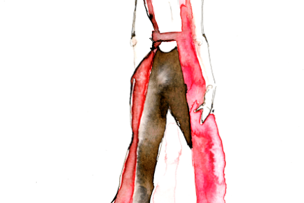 aldraws fashion digital illustration raf simons dior emma watson golden globes 2014