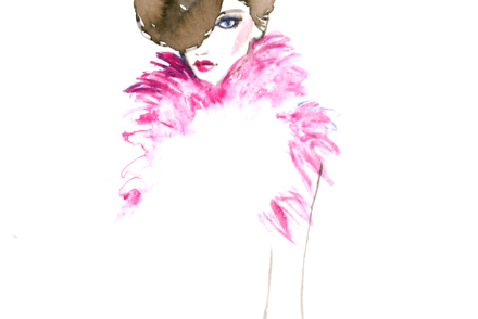 aldraws fashion digital illustration armani prive
