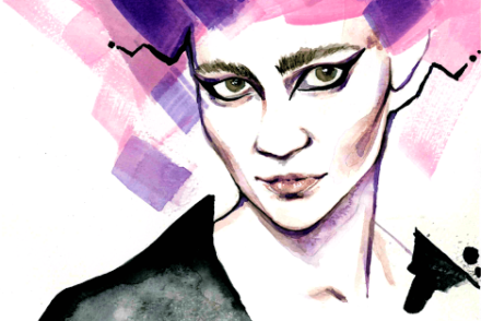 aldraws fashion digital illustration grimes music