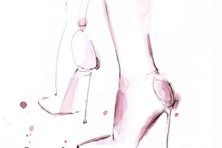 Heels shoes fashion illustration Alessia Landi Al Draws